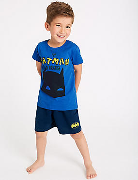 Batman™ Short Pyjamas (2-8 Years), BLUE MIX, catlanding