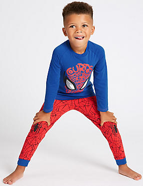 Spider-Man™ Pyjamas (2-8 Years), BLUE MIX, catlanding