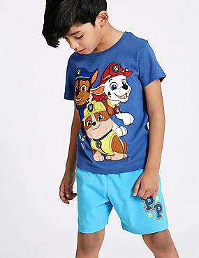 Paw Patrol Cotton Rich Short Pyjamas (1-6 Years)