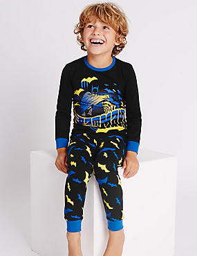 Cotton Rich Batman™ Pyjamas (1-8 Years)