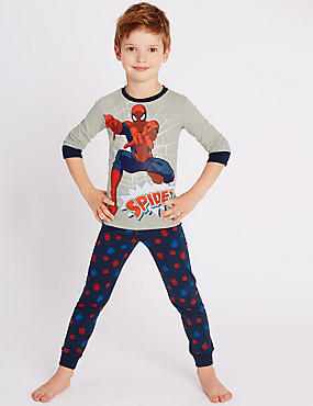 Slim Fit Spider-Man™ Pyjamas (1-8 Years)