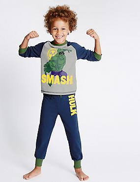 Hulk Pyjamas (3-14 Years)