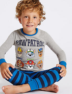 Paw Patrol Cotton Rich Pyjamas (1-6 Years)
