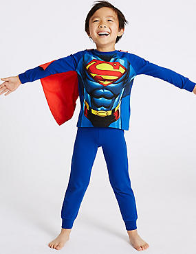 Superman™ Pyjamas with Stretch (2-10 Years)