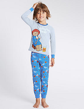 Long Sleeve Paddington Bear™ Pyjamas (1-8 Years)