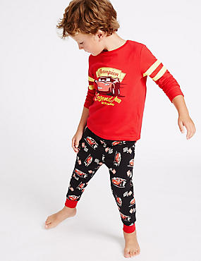 Disney Cars™ Cotton Pyjamas with Stretch (1-8 Years)