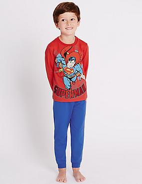 Cotton Rich Superman™ Pyjamas (1-8 Years)