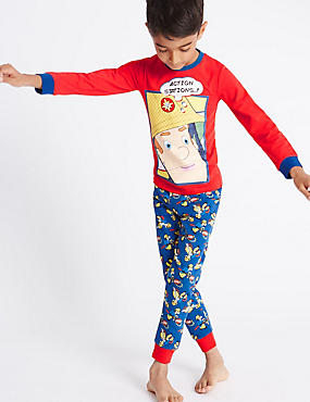 Cotton Rich Fireman Sam™ Pyjamas (1-8 Years)