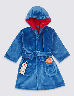 Paddington™ Dressing Gown (9 Months - 7 Years), BLUE MIX, catlanding