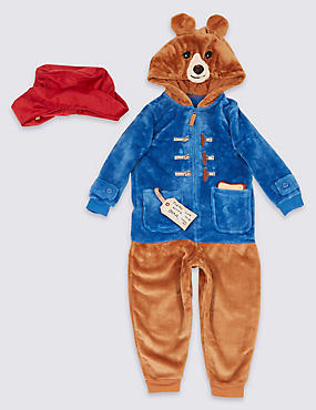 Paddington™ Onesie with Hat (9 Months - 7 Years)