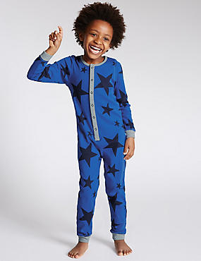 Star Print Onesie (1-8 Years)
