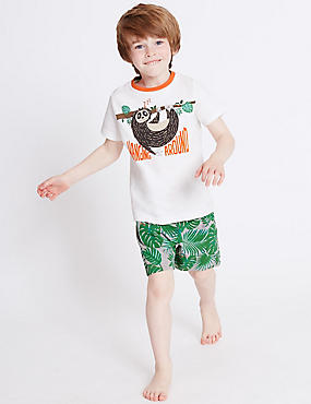 Printed Short Pyjamas (9 Months - 8 Years)
