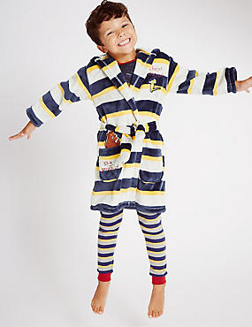 Long Sleeve Gruffalo Striped Dressing Gown (1-8 Years)