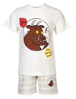 Pure Cotton Gruffalo Short Pyjamas Clothing