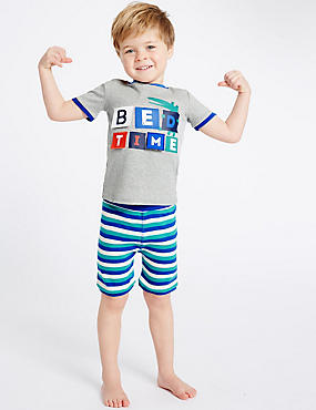 Pure Cotton Short Pyjamas (9 Months - 8 Years)