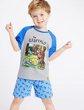The Gruffalo Pure Cotton Pyjamas (1-8 Years)