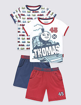 Thomas & Friends™ 2 Pack Pyjamas (1-8 Years)