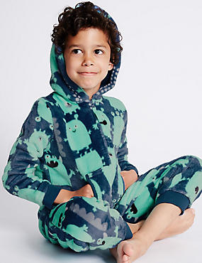 Alien Fleece Onesie (1-8 Years)