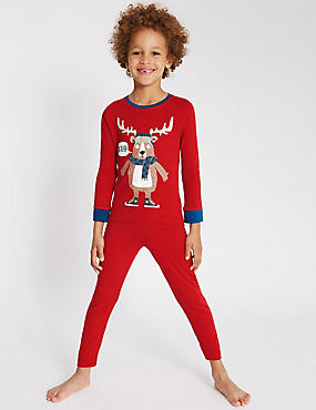 2 Pack Long Sleeve Pyjamas (1-8 Years)