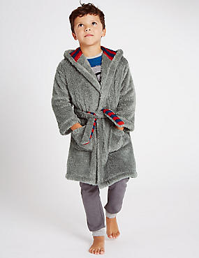Long Sleeve Bear Dressing Gown (1-8 Years)