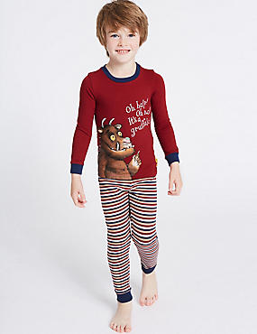 Cotton Gruffalo™ Pyjamas with Stretch (1-8 Years)