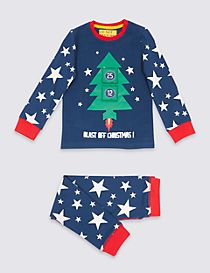 Blast Off Christmas Pyjamas (9 Months - 8 Years)