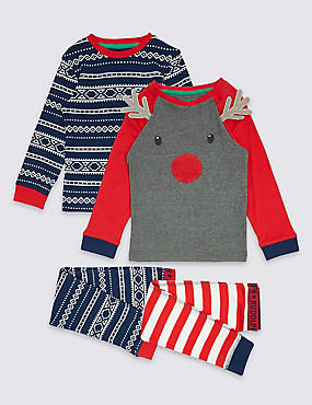 2 Pack Pyjamas (9 Months - 8 Years)