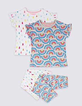 2 Pack Printed Pyjamas (18 Months - 7 Years)