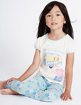 Peppa Pig™ Short Sleeve Pyjamas (1-7 Years)