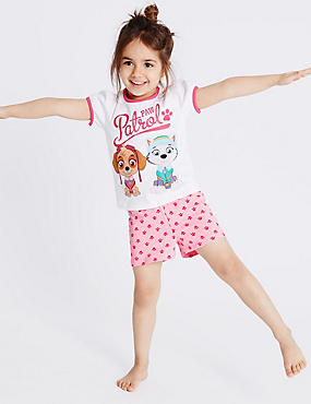 Pure Cotton Paw Patrol Short Pyjamas (1-6 Years)