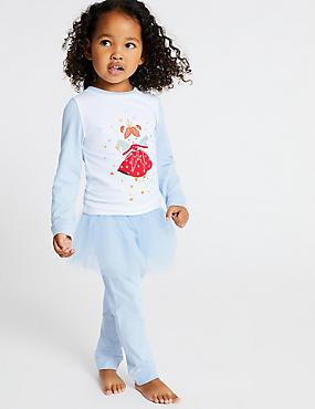 Tutu Pyjamas (1-7 Years), BLUE, catlanding