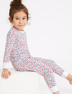 Ditsy Print Pyjamas with Stretch (1-7 years)