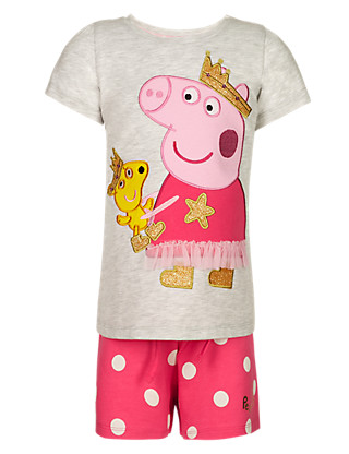 Peppa Pig™ Short Pyjamas (1-7 Years) Clothing