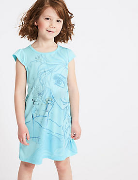 Disney Frozen™ Nightdress (2-10 Years), BLUE MIX, catlanding