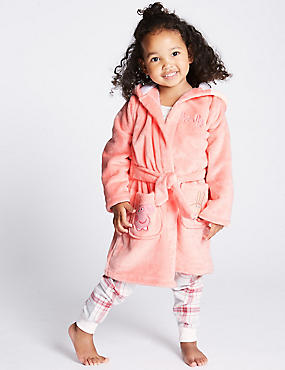 Peppa Pig™ Dressing Gown (1-7 Years), PINK MIX, catlanding