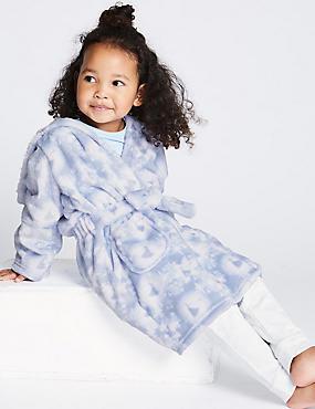 Disney Frozen™ Dressing Gown (2-10 Years), LIGHT BLUE MIX, catlanding