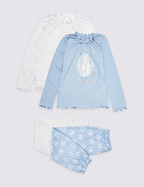 2 Pack Disney Frozen™ Pyjamas (2-10 Years), BLUE MIX, catlanding