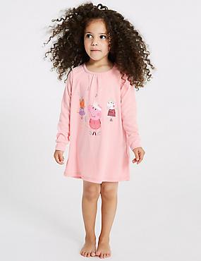 Peppa Pig™ Nightdress (1-7 Years), PINK MIX, catlanding