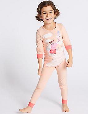 Peppa Pig™ Pyjamas (1-7 Years), PINK MIX, catlanding