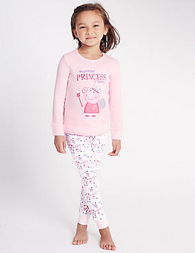 Pure Cotton Peppa Pig™ Pyjamas (1-7 Years)