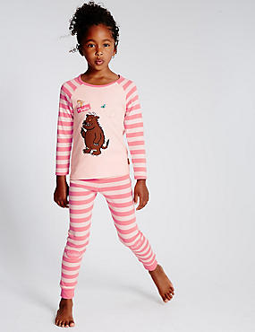 Pure Cotton Skinny Fit Gruffalo Pyjamas (1-8 Years)