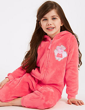 Peppa Pig™ Hooded Onesie (1-7 Years)