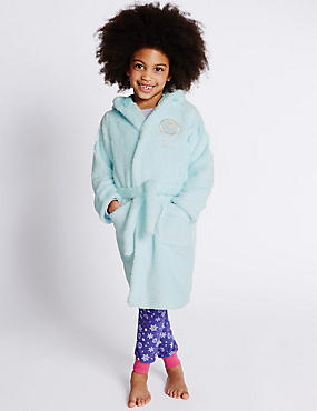 Disney Frozen Anti Bobble Elsa Dressing Gown (1-10 Years)