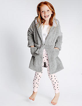 Bunny Face Dressing Gown (1-8 Years)