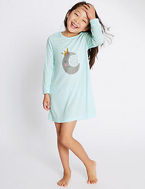 Long Sleeve Sleep Nightdress (1-8 Years)