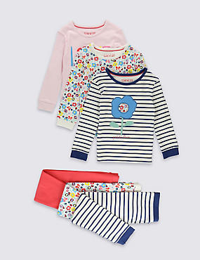 3 Pack Assorted Pyjamas (9 Months-8 Years)