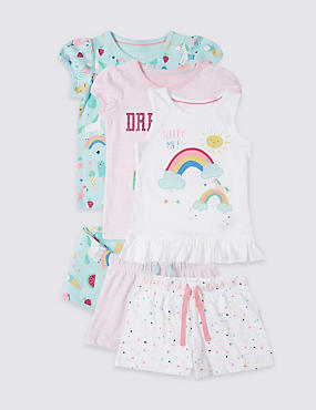 3 Pack Unicorn Pyjamas (9 Months - 8 Years)