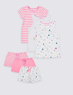 3 Pack Short Pyjamas (9 Months - 8 Years)