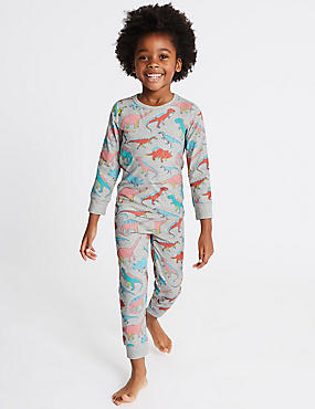 Dinosaur Print Pyjamas (1-7 Years)