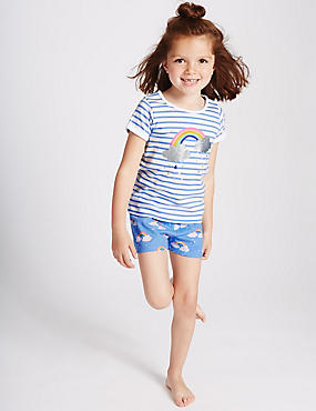 Pure Cotton Short Pyjamas (3 Months - 8 Years)